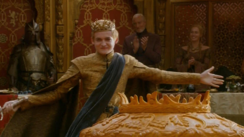 Image Its Joffrey Baratheons Wedding